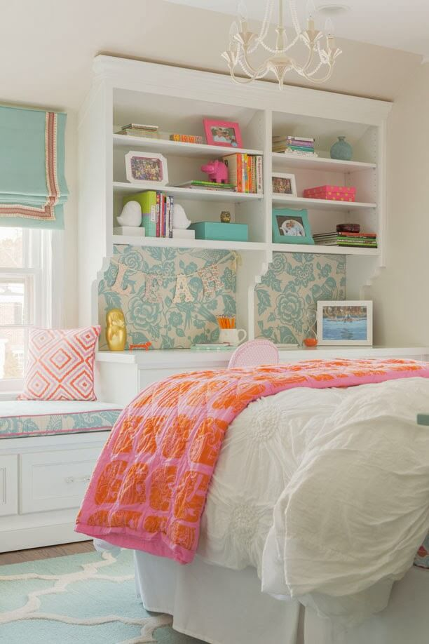 50 Cool & Cute Teen Girls Bedroom Ideas to Increase Your Room Beauty