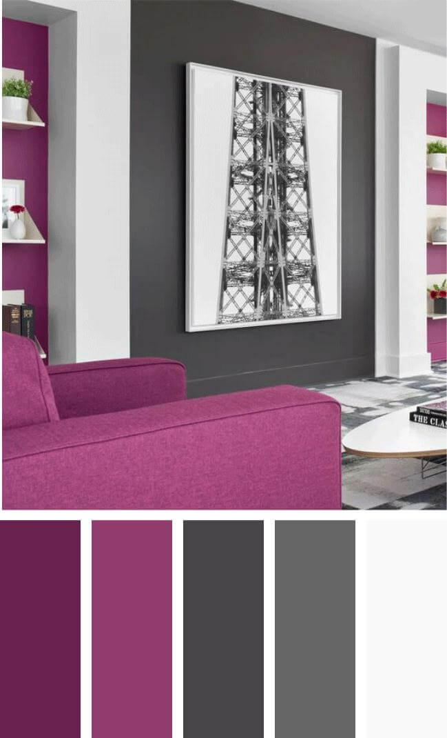 The most popular new modern living room color schemes that will make your room look professionally designed to get that fixer upper style. #livingroomcolorschemes #livingroomcolorschemeideas