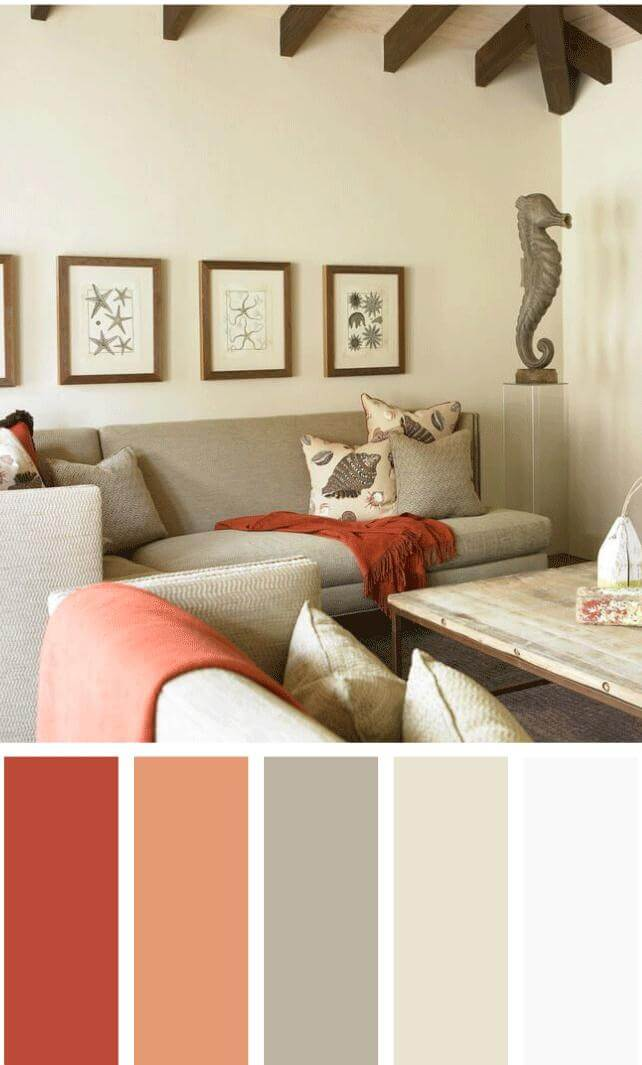 Best living room color scheme ideas that will make your room look professionally designed for you that are cheap and simple to do. #livingroomcolorschemes #livingroomcolorschemeideas