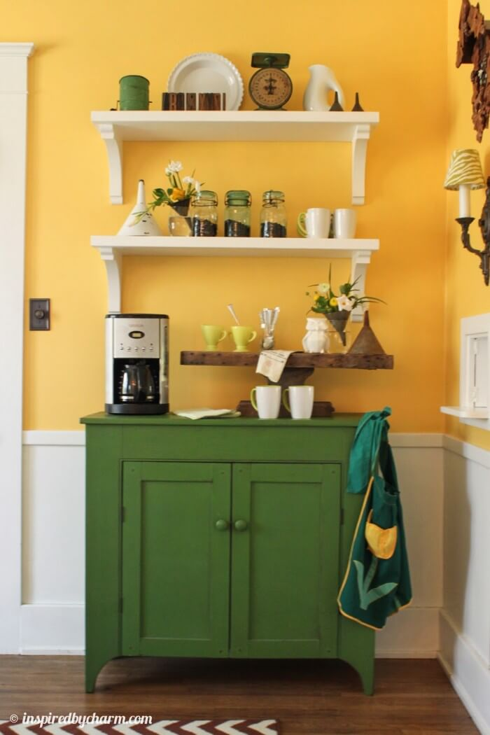 The most popular new coffee station ideas for the home each and every detail of this makeover is truly amazing and so full of unique style!