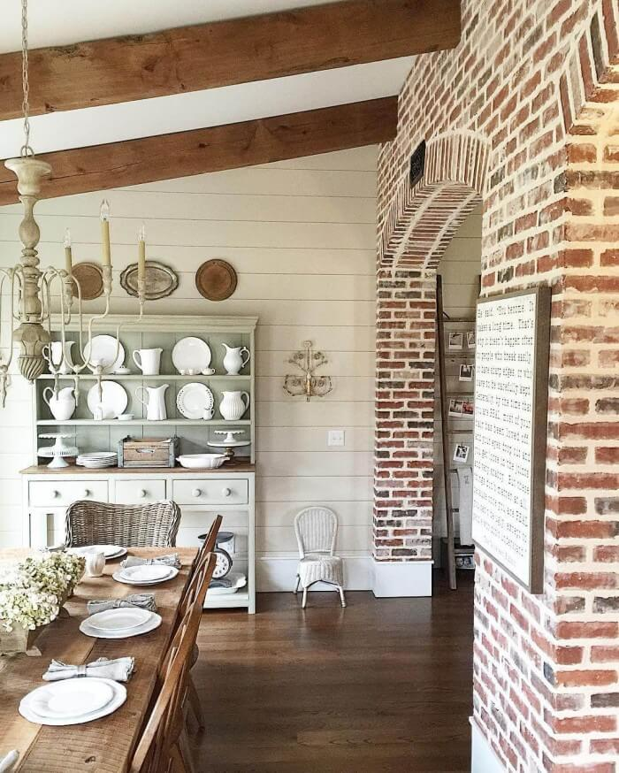 {Remodel Decor Inspiration} Cheap and Easy modern farmhouse interior design that will add personality to your room for Country Home Decorating. We Show You How to Get It!