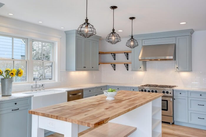 Kitchen Remodeling Ideas - farmhouse kitchen cabinets that will help transform your kitchen into the place you've been craving for so long