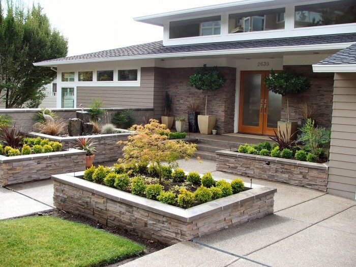 Fresh inspiration: rock landscaping ideas for front yard ways to create a peaceful refuge - Inspirational Gardening Ideas