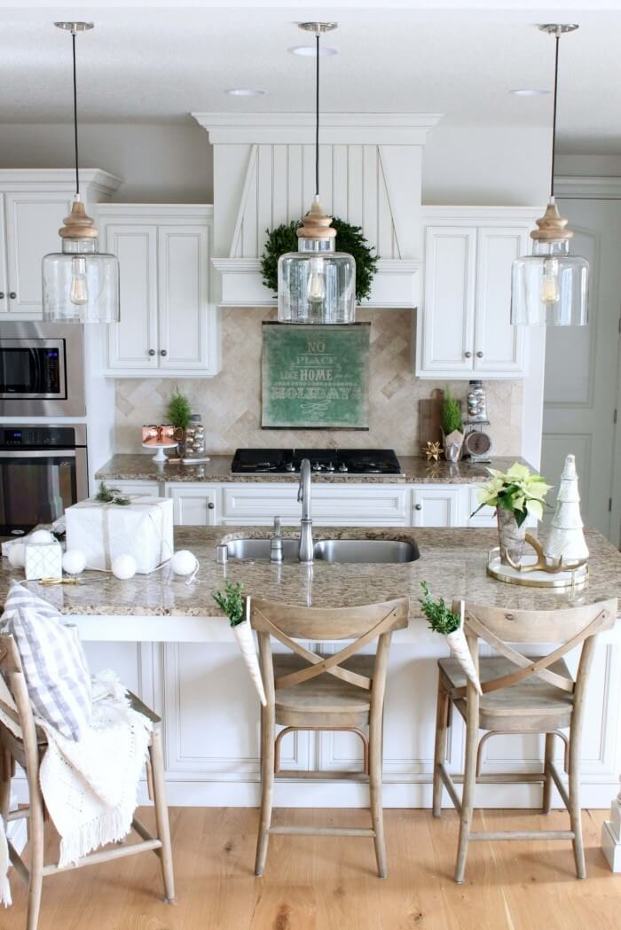 √ 35 Cozy and Chic Rustic Farmhouse Kitchen Cabinet Ideas and Designs