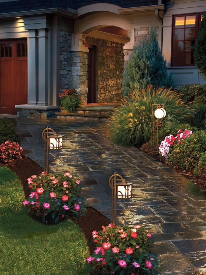 Cheap and Easy front yard landscaping ideas on a budget to beautify your garden on a budget - Inspirational Gardening Ideas