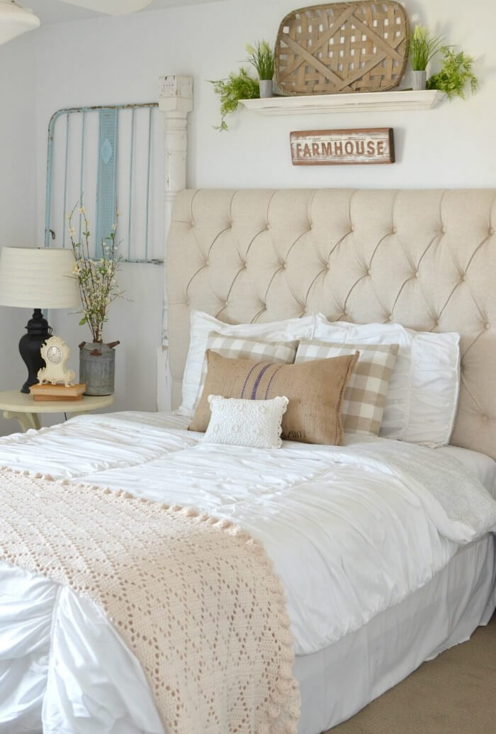 Vintage Bedrooms | farmhouse style bedroom furniture delivered to your doorstep for a peaceful and welcoming feel