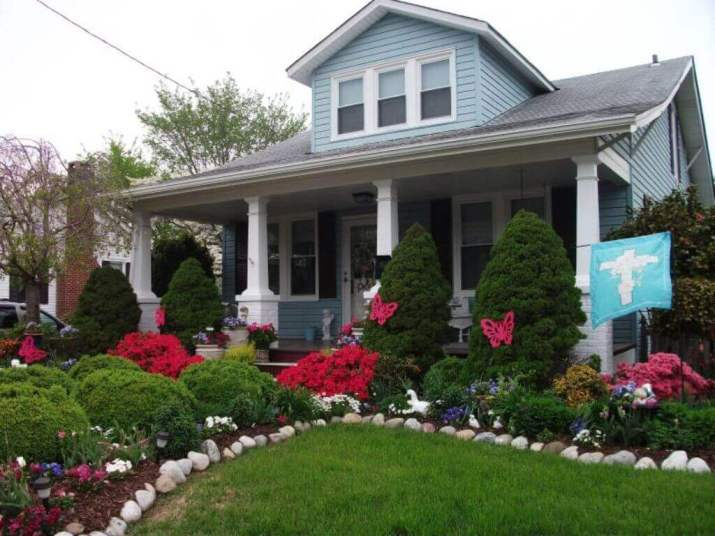 Cheap and Easy front yard landscaping ideas to beautify your garden on a budget - Inspirational Gardening Ideas