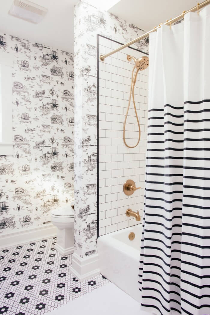 Refresh your home with these small bathroom tiles design that make sure inspire you to increase your bathroom beauty and get fixer upper style