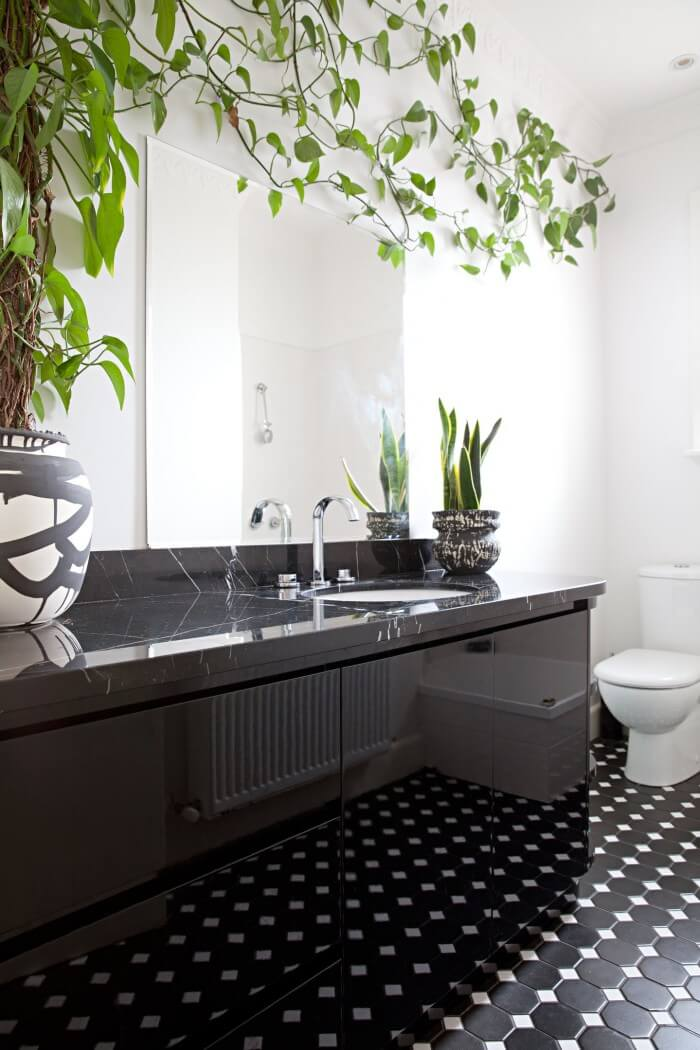 Functional ideas for decorating half bathroom tile ideas will have you planning your bathroom remodel. Get the most from smaller spaces when tiling bathroom walls and floors