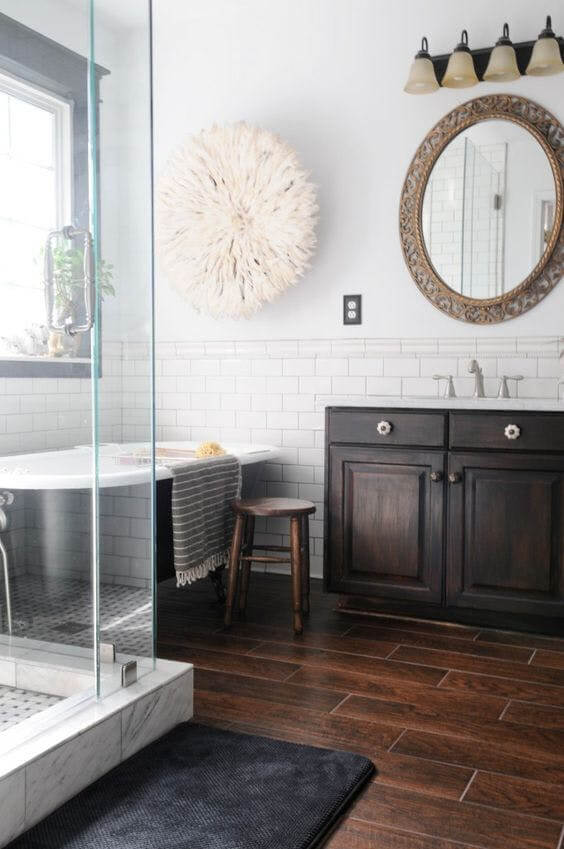 Functional ideas for decorating bathroom tile ideas for small bathrooms will have you planning your bathroom remodel. Get the most from smaller spaces when tiling bathroom walls and floors