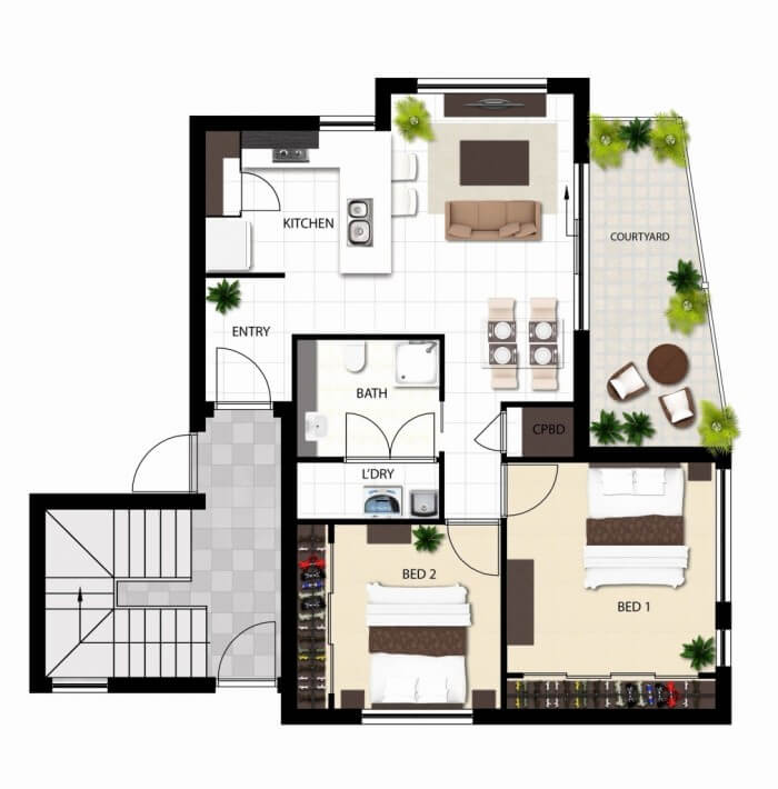 Popular Custom 40x40 barndominium floor plans for your dream home! #barndominium #barndominiumfloorplans #barndominiumplans