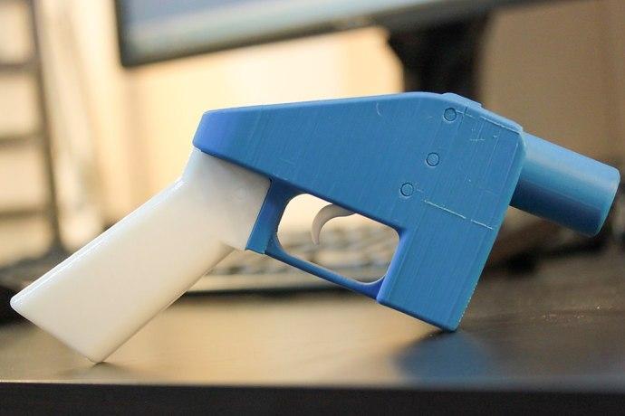 3D printed plastic handgun