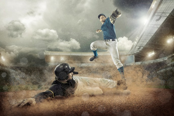 Slide into home plate