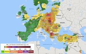 East/West Europe Pollution