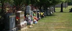 Photo of headstones