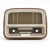 Premium Ad Old Radio