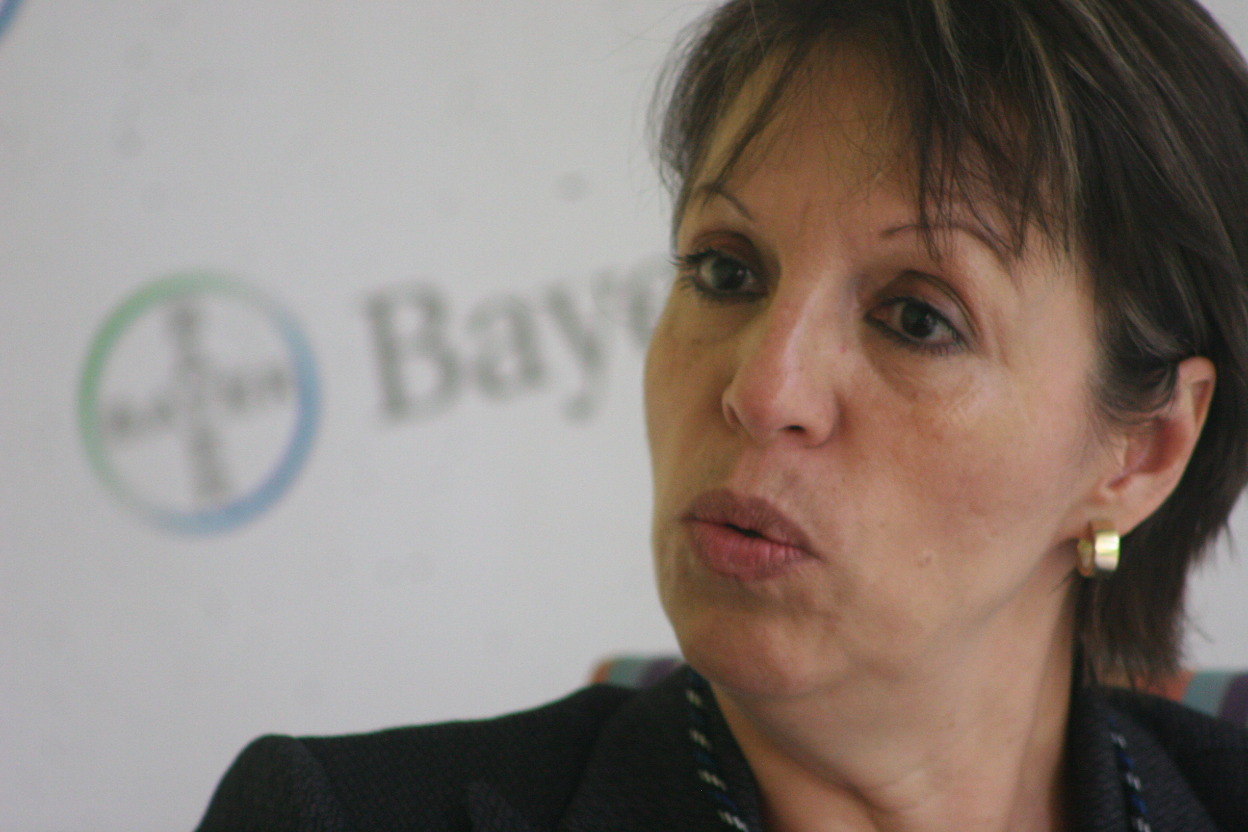Vivien Montenegro, ejecutiva de Bayer Guatemala, compartiò con CGN algunos planes de protecciòn ecològica que desarrollan.