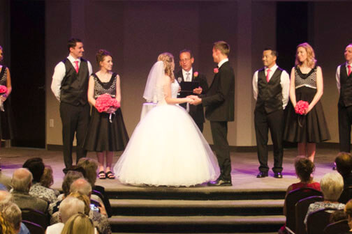 Pastor Gives Away Bride and Then Officiates Wedding in Chandler Arizona