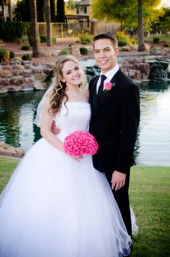 Pastor Gives Away Daughter and Then Officiates Wedding in Chandler Az