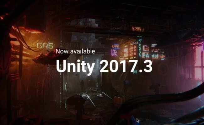 Unity 2017 3 Released Cgpress