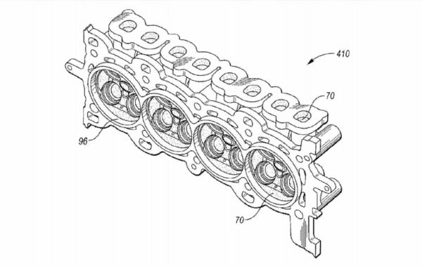 Ford Files Patent for New Composite Cylinder Head