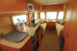 Living area in the Bailey Pageant Bretagne