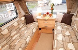 The double settee in the Xplore