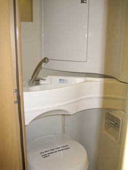Elddis Avante Bathroom
