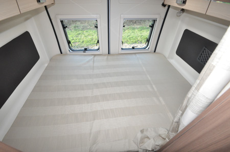 Pilote F600DGA Motorhome Double Bed