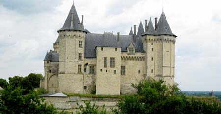 Samaur Chateau The Valley of the Kings in France