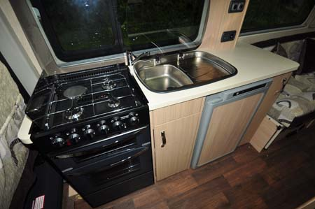 Auto-Sleeper Warwick Duo Kitchen
