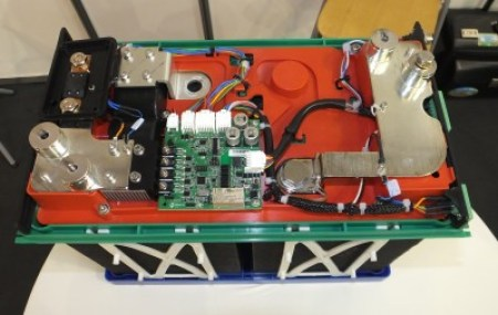 The electronics inside a Lithium Iron Phosphate battery