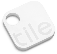 Tile key tracking tag