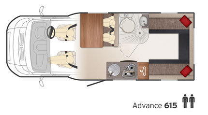 Bailey Approach Advance 615 floor plan