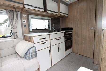 Coachman Laser 650 Kitchen