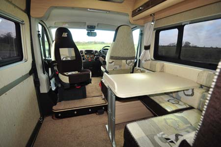 Auto-Sleeper Stanway Dining Lounge