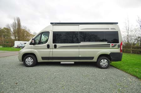 Auto-Sleeper Stanway Exterior Side