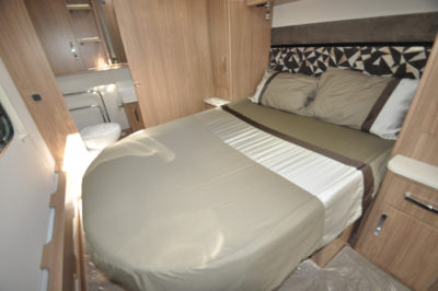 Coachman Laser 675 double bed