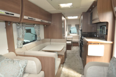 Buccaneer Galera interior looking forward