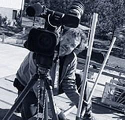 Jay Spain behind the camera