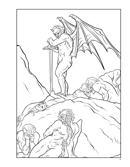Dante's Inferno: The Coloring Book image 2