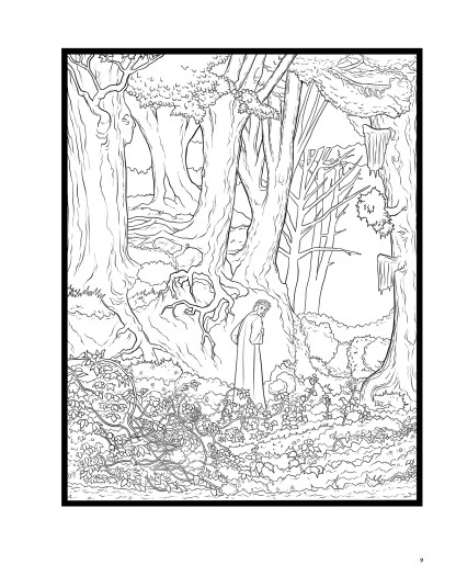 Dante's Inferno: The Coloring Book image 4