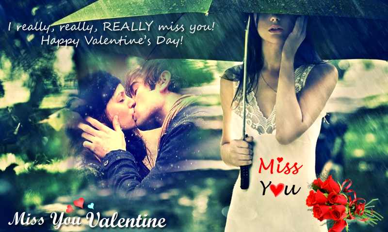 miss you valentine frames miss you photo frames valentine 2017 happy valentines day valentine day 2017 valentine greetings i miss you photo