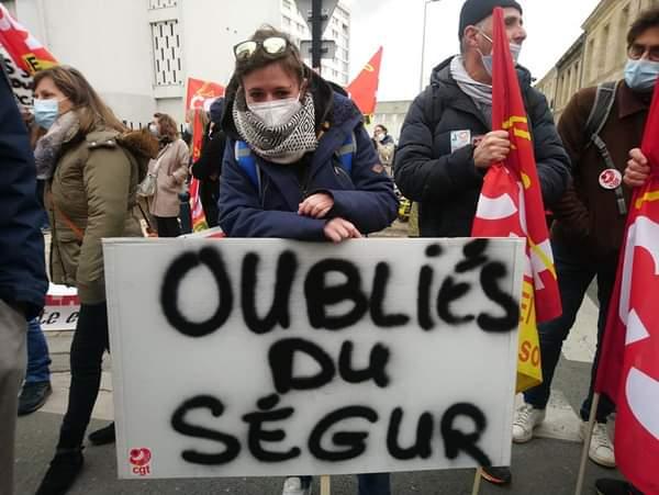 «Ségur»  DÉCLARATION DES SYNDICATS CGT DE GIRONDE
