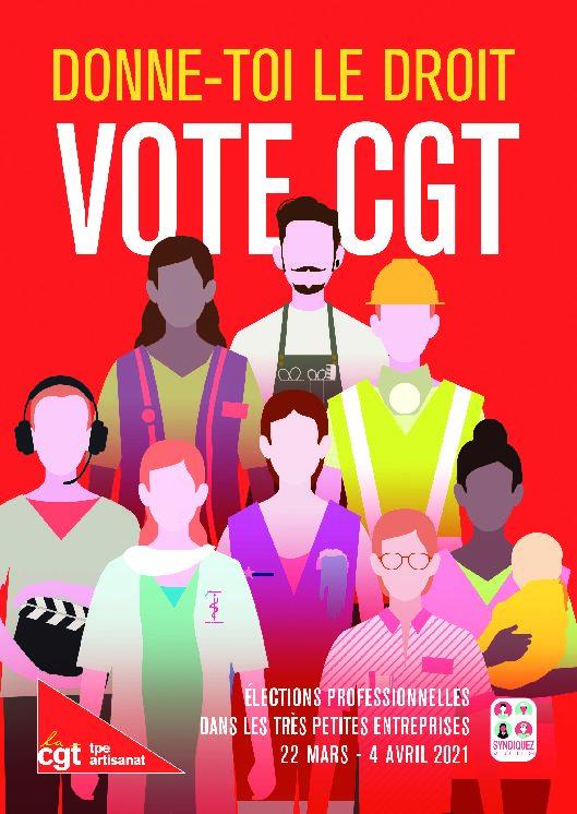 ÉLECTIONS DANS LES TPE : Déclaration de la CGT