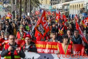Grande manifestation de rentrée sociale @ Place Massena, Nice