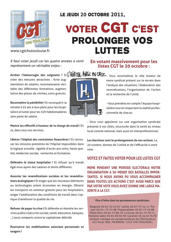 tract de fin de campagne   demain votez cgt    u2013 cgt chu toulouse