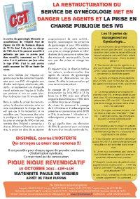 tract IVG gynéco