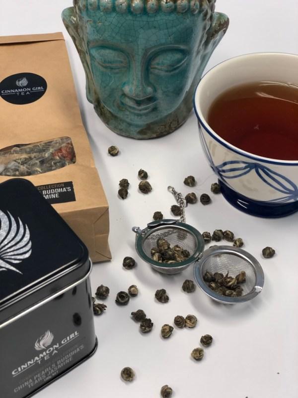 Cinnamon Girl Tea and Spices China Pearls Buddha's Jasmine