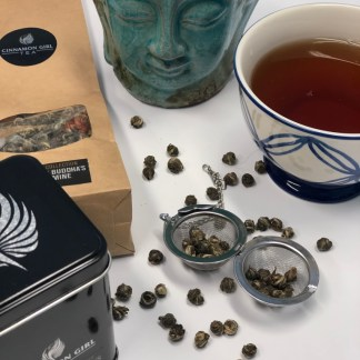 Cinnamon Girl Tea and Spices China Pearls Buddha's Jasmine